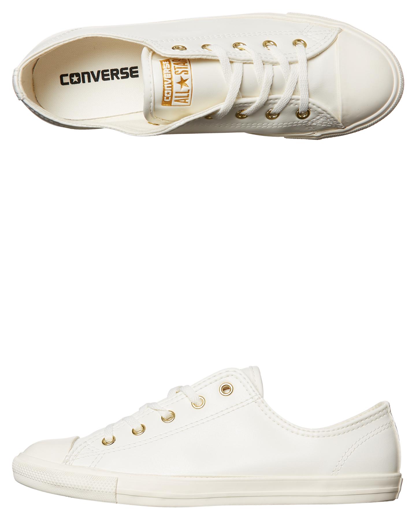 71de5b44bb2dcf EGRET WHITE WOMENS FOOTWEAR CONVERSE SNEAKERS - 557995EGRET ...