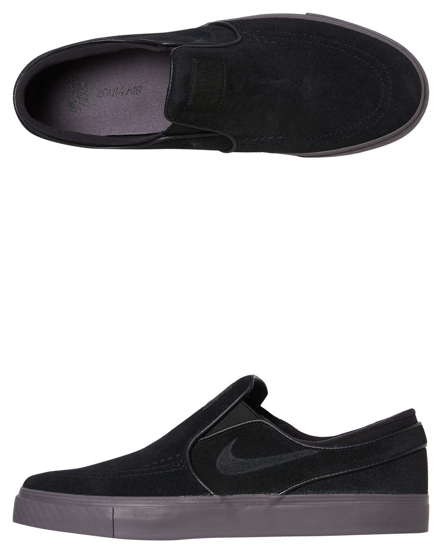 531645bea344 Nike Sb Zoom Stefan Janoski Slip On Shoe - Black Black