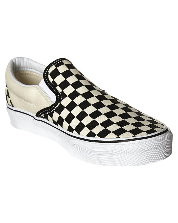 734578ec0480d9 ... BLACK WHITE CHECKER MENS FOOTWEAR VANS SLIP ONS - SSVN-0EYEBWWM1 ...