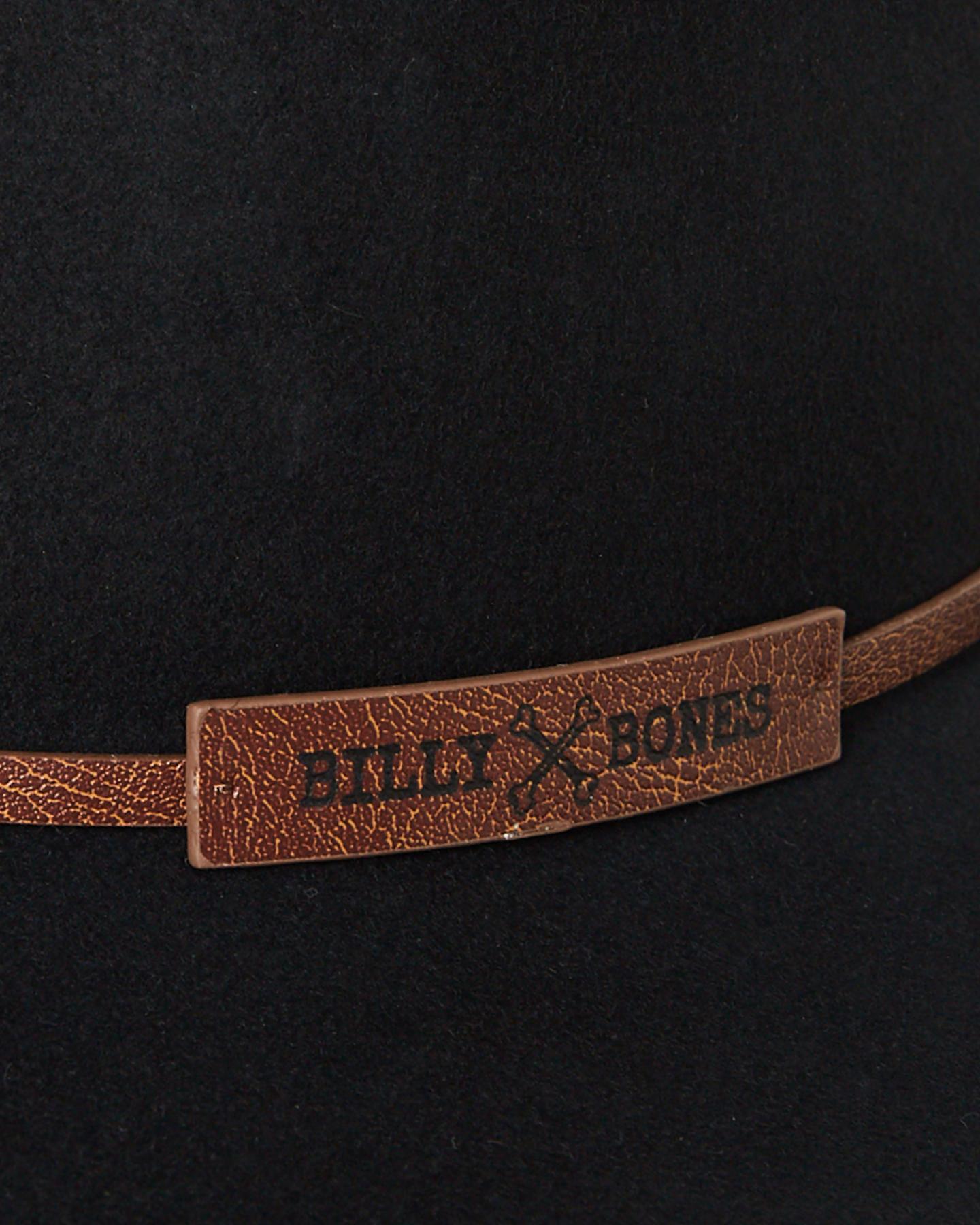 b7b455d199cd5 ... BLACK MENS ACCESSORIES BILLY BONES CLUB HEADWEAR - BBCFED010BLK