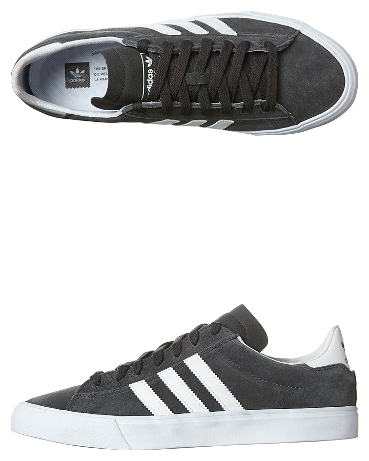 88ce1fca190 Adidas Originals Campus Vulc Ii Adv Shoe - Grey White