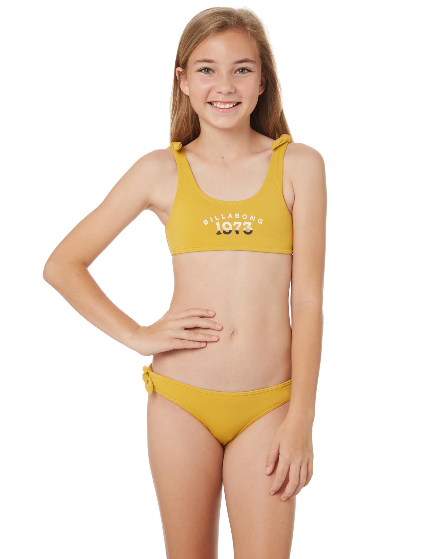 newest 6eeeb 699e3 Girls Long Lived Tie Crop Bikini - Teens