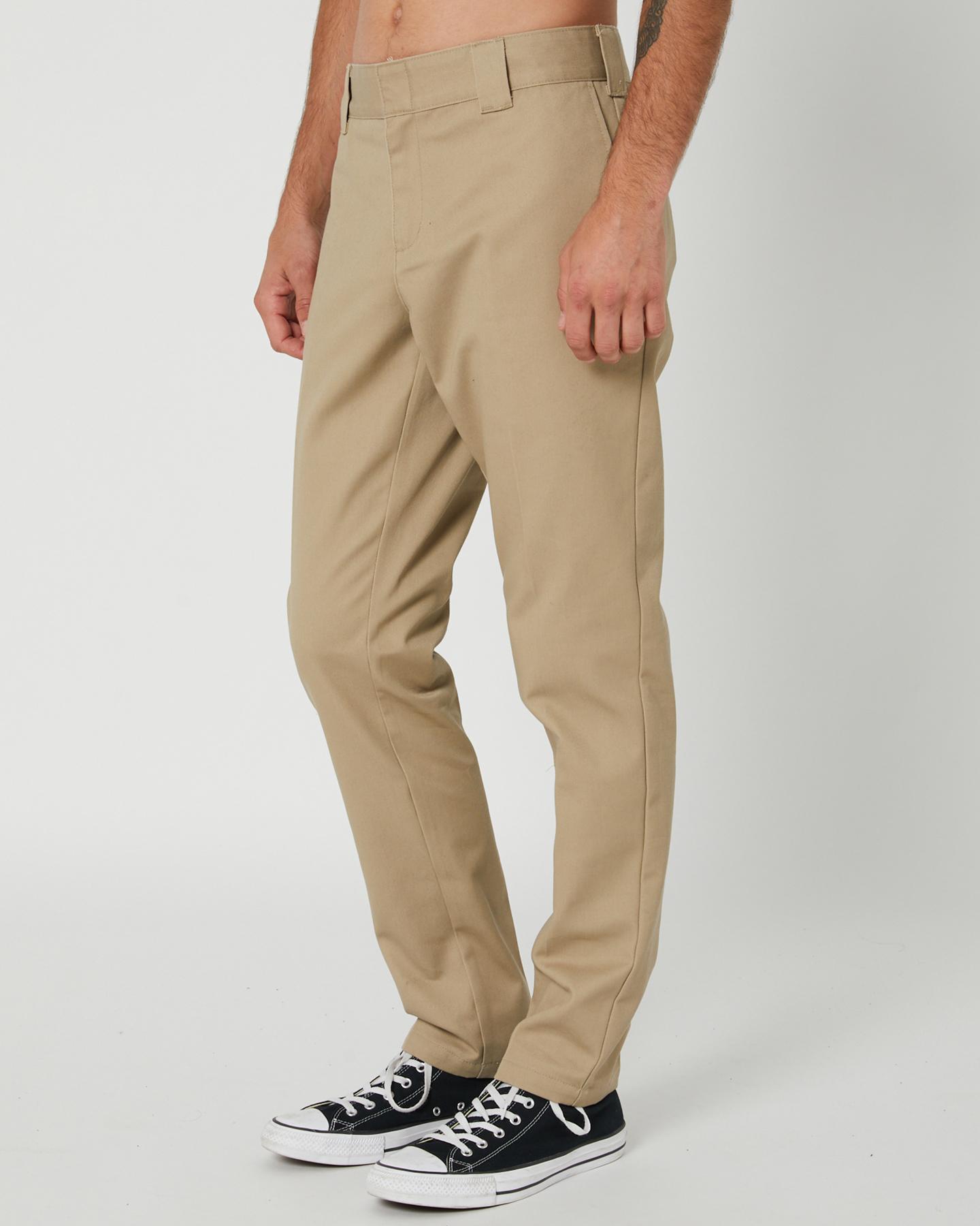 Dickies 872 Slim Fit Mens Work Pant Khaki Surfstitch