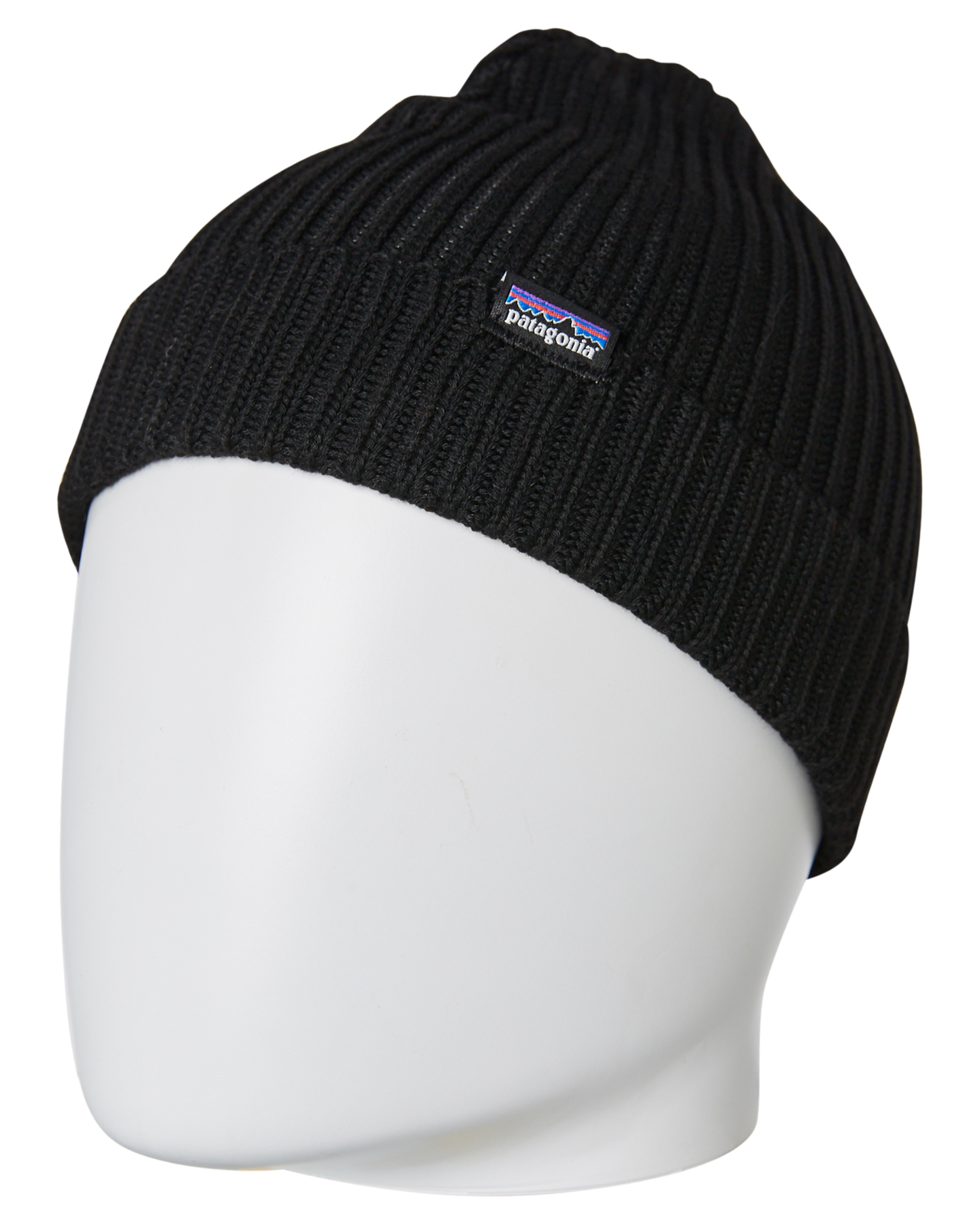 1cd23c812553a Patagonia Fishermans Rolled Beanie - Black