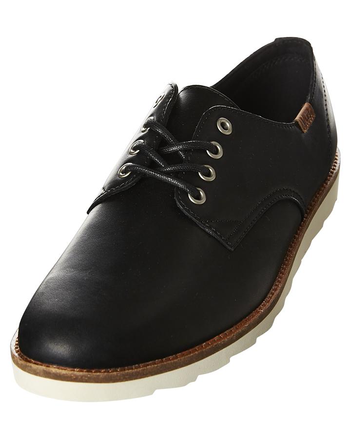 Vans Desert Point Leather Shoe - Black