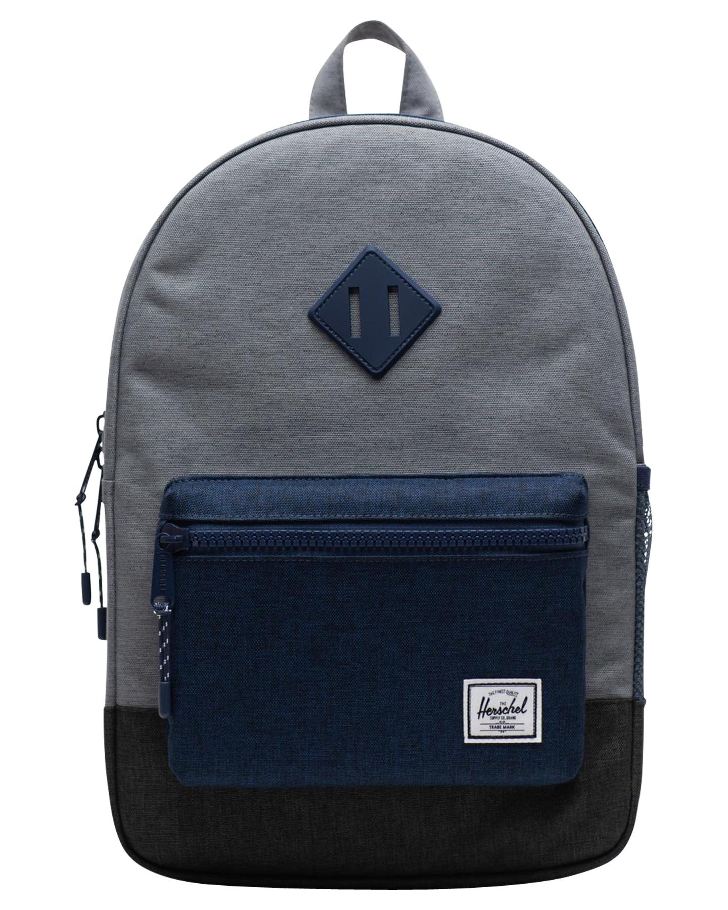 3f7909ac2d Herschel Supply Co Kids Heritage 16L Backpack - Mid Grey Blue Black ...