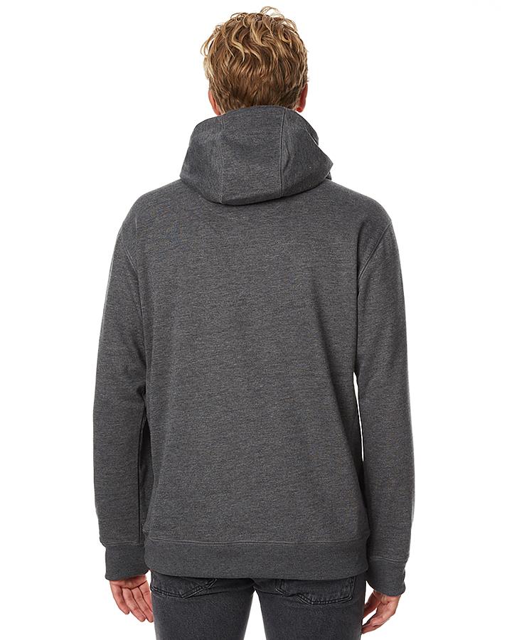 burton hemlock bonded mens pullover hoodie true black
