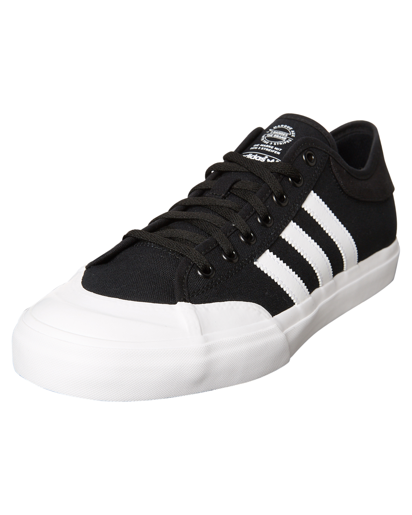 ... BLACK WHITE BLACK MENS FOOTWEAR ADIDAS SNEAKERS - SSF37383BLKM ...