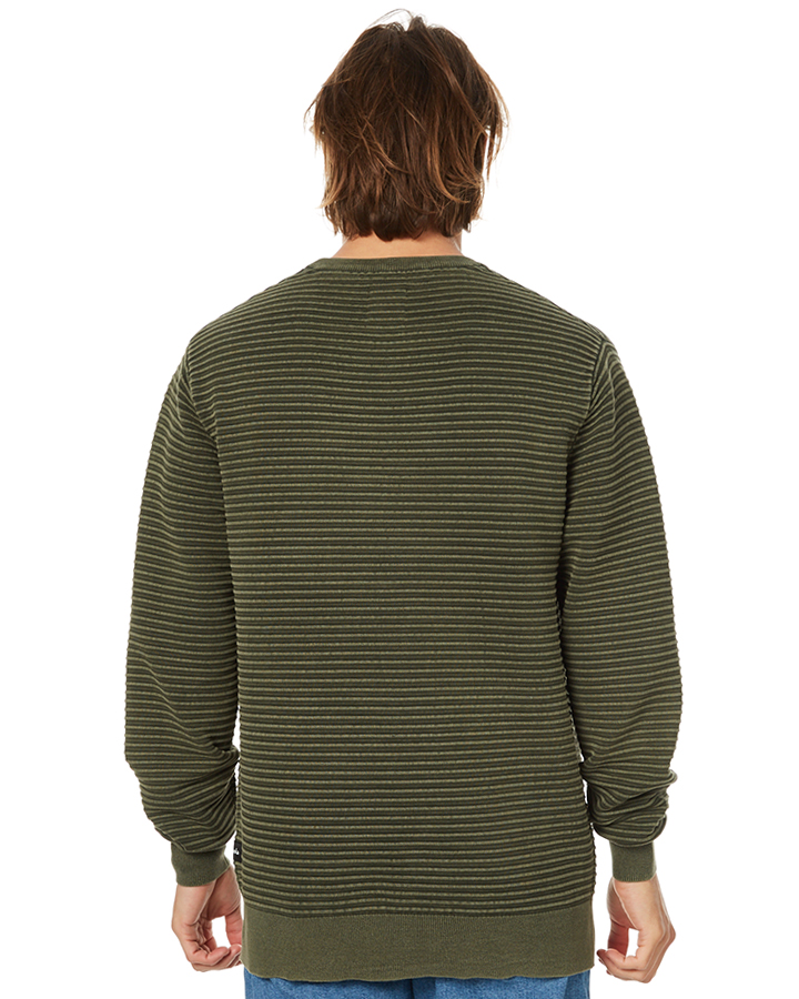 Barney Cools Muse Mens Knit - Army | SurfStitch