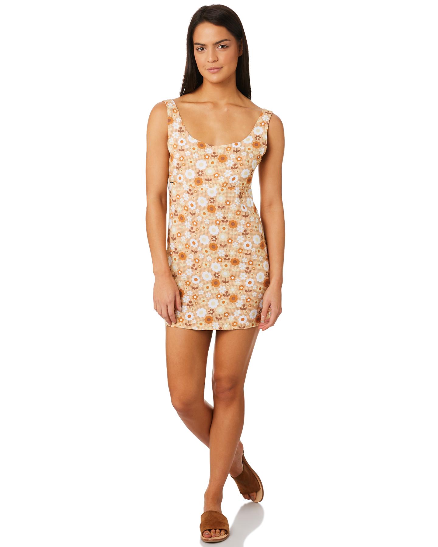 911fed2939bb1 Afends Sabby Mod Dress - Buttercup | SurfStitch