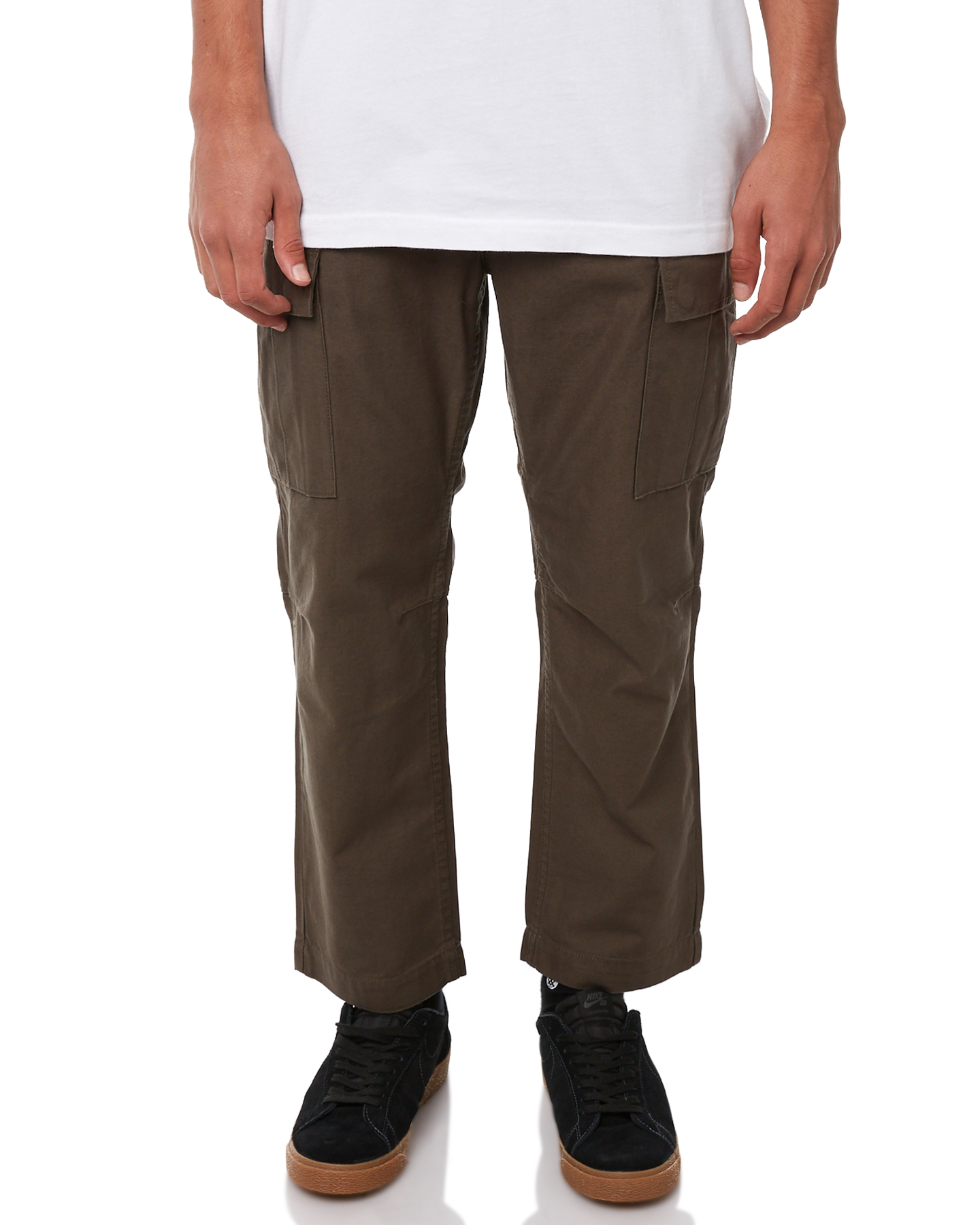 3d8eef546ce Globe Militant Mens Cargo Pant - Army | SurfStitch