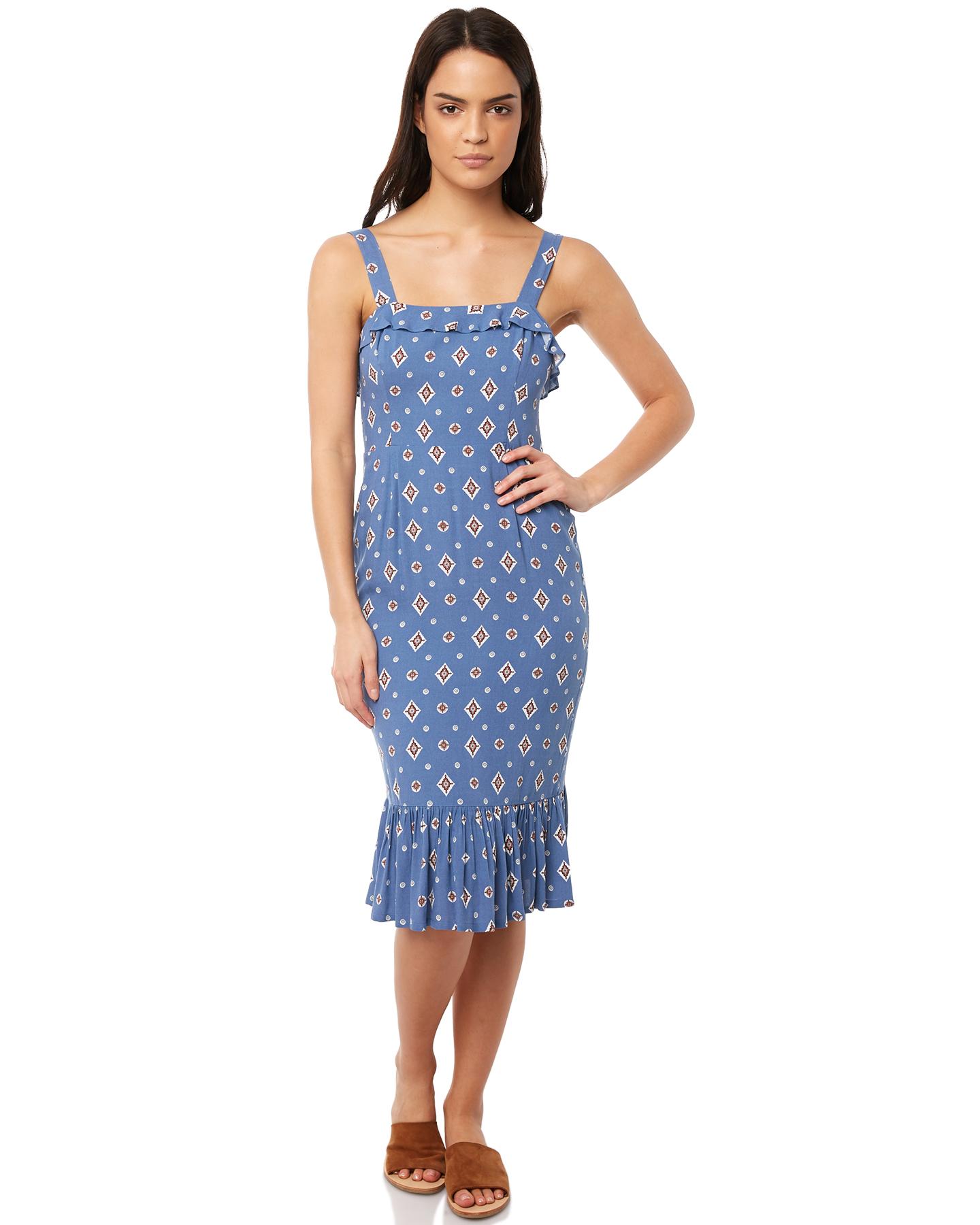 818c02636d7 Tigerlily Sadaf Dress - Blue
