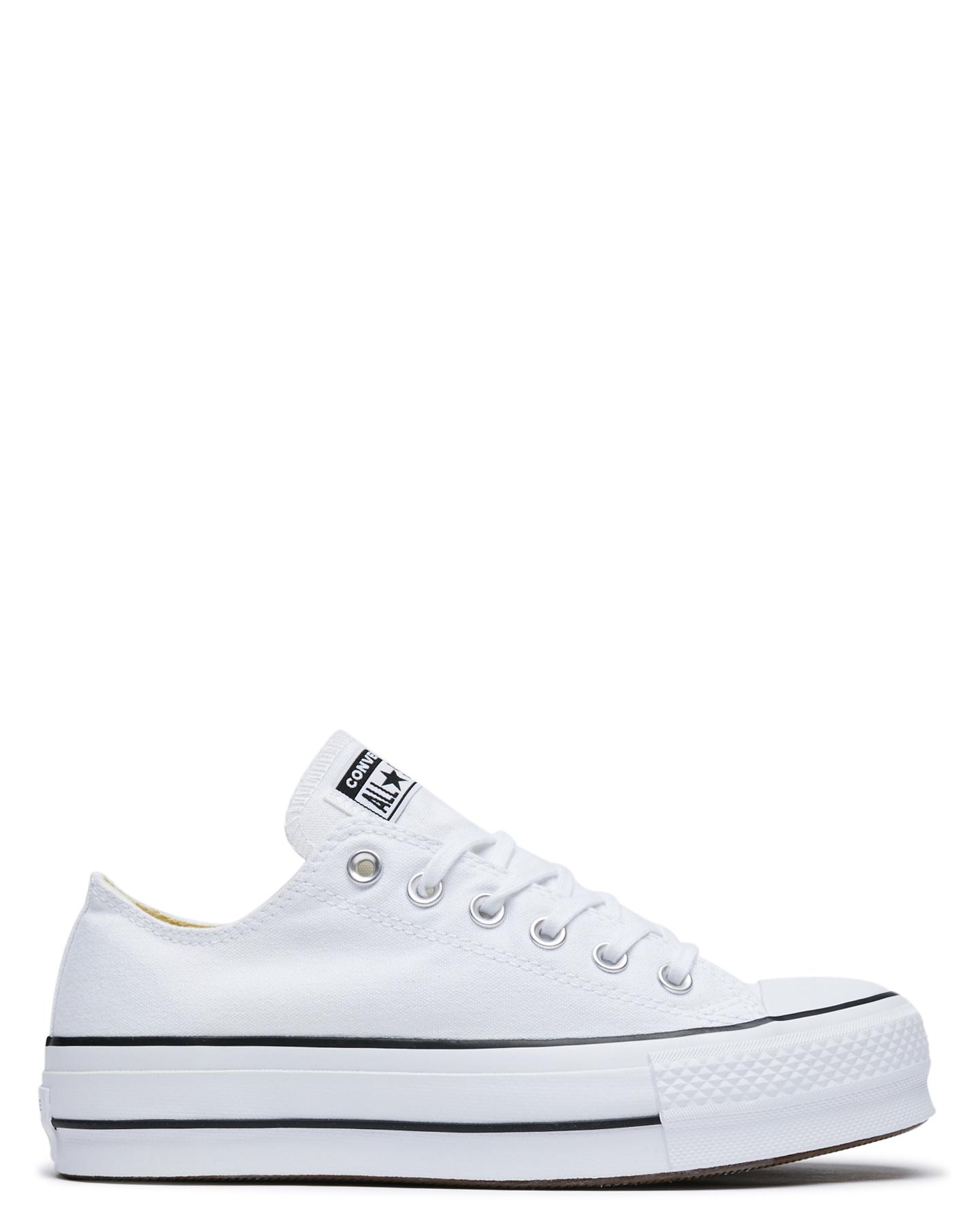 d82882e23a34 WHITE WOMENS FOOTWEAR CONVERSE SNEAKERS - 560251WHITE ...