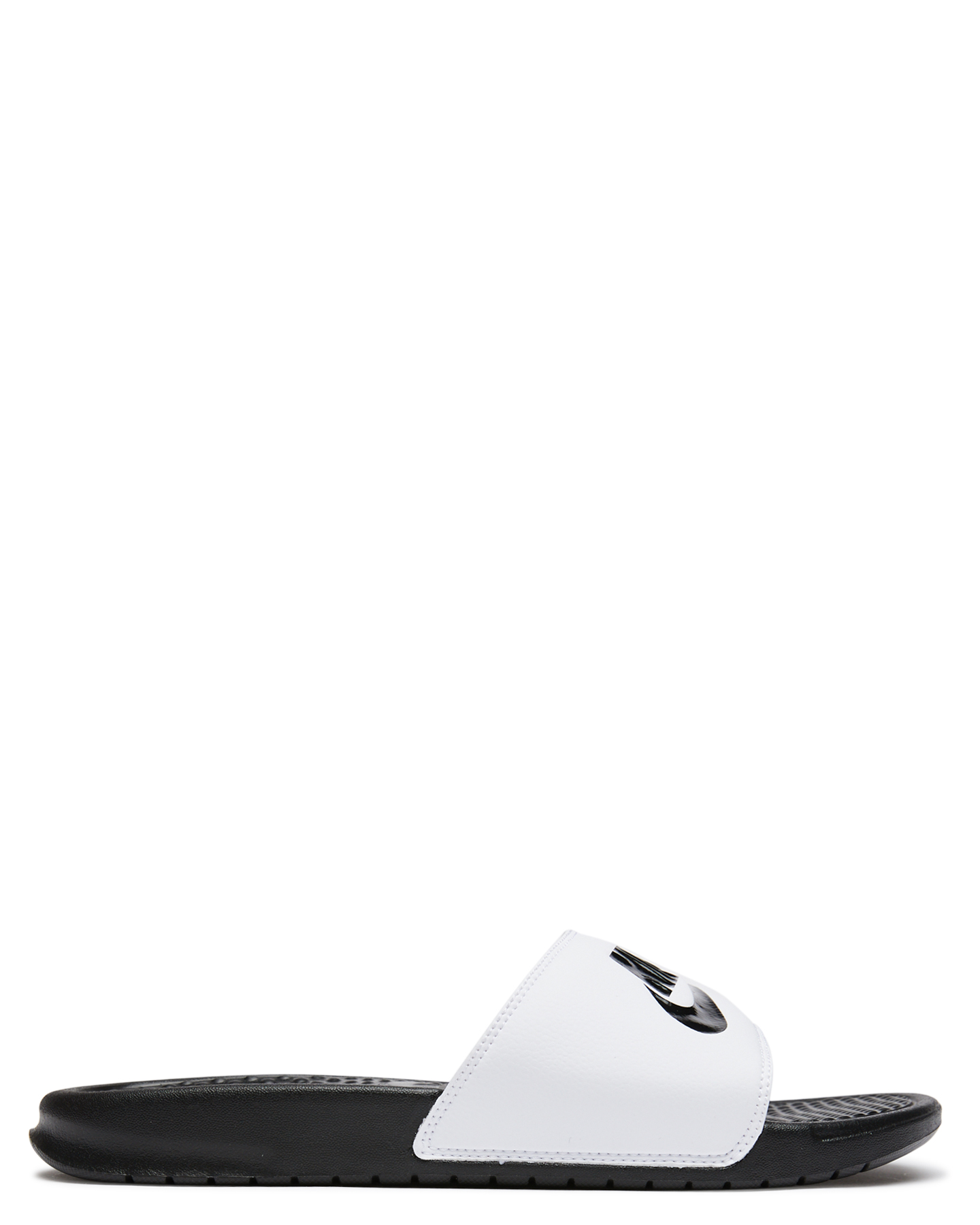 eaa907690 WHITE BLACK WOMENS FOOTWEAR NIKE SLIDES - SS343880-100W ...