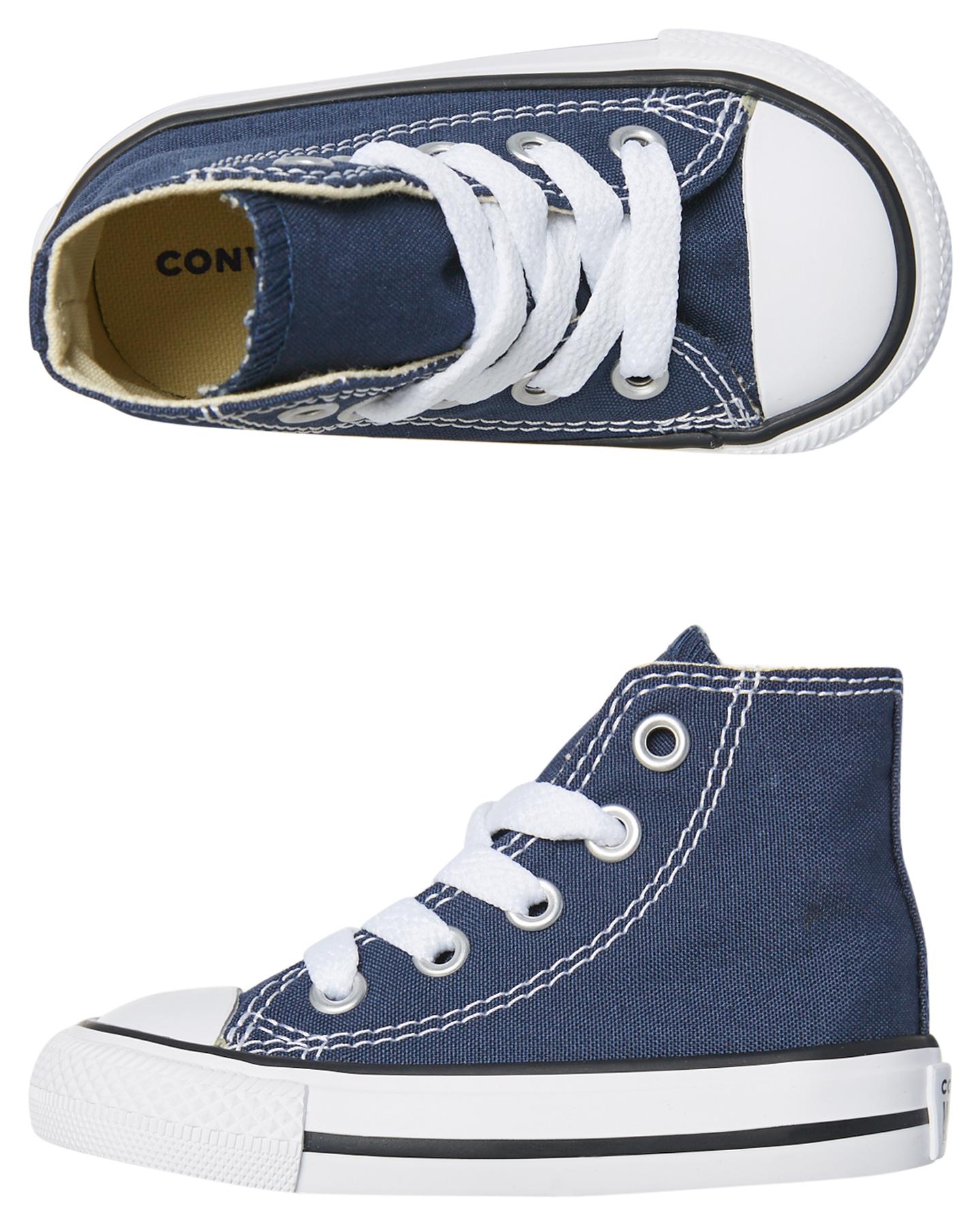 Converse Tots Chuck Taylor All Star Hi Shoe - Navy  1758df58d5
