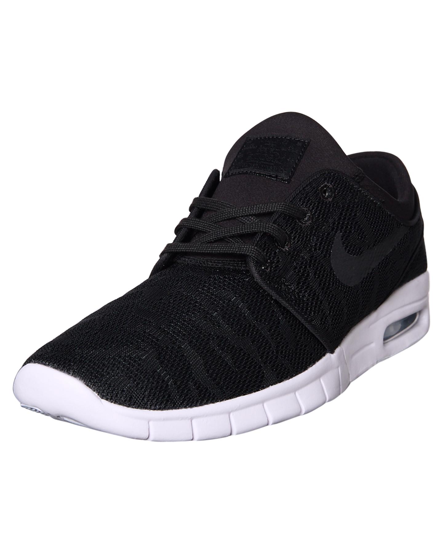 62e2ceb2ee4 ... BLACK WHITE WOMENS FOOTWEAR NIKE SNEAKERS - SS631303-022W ...