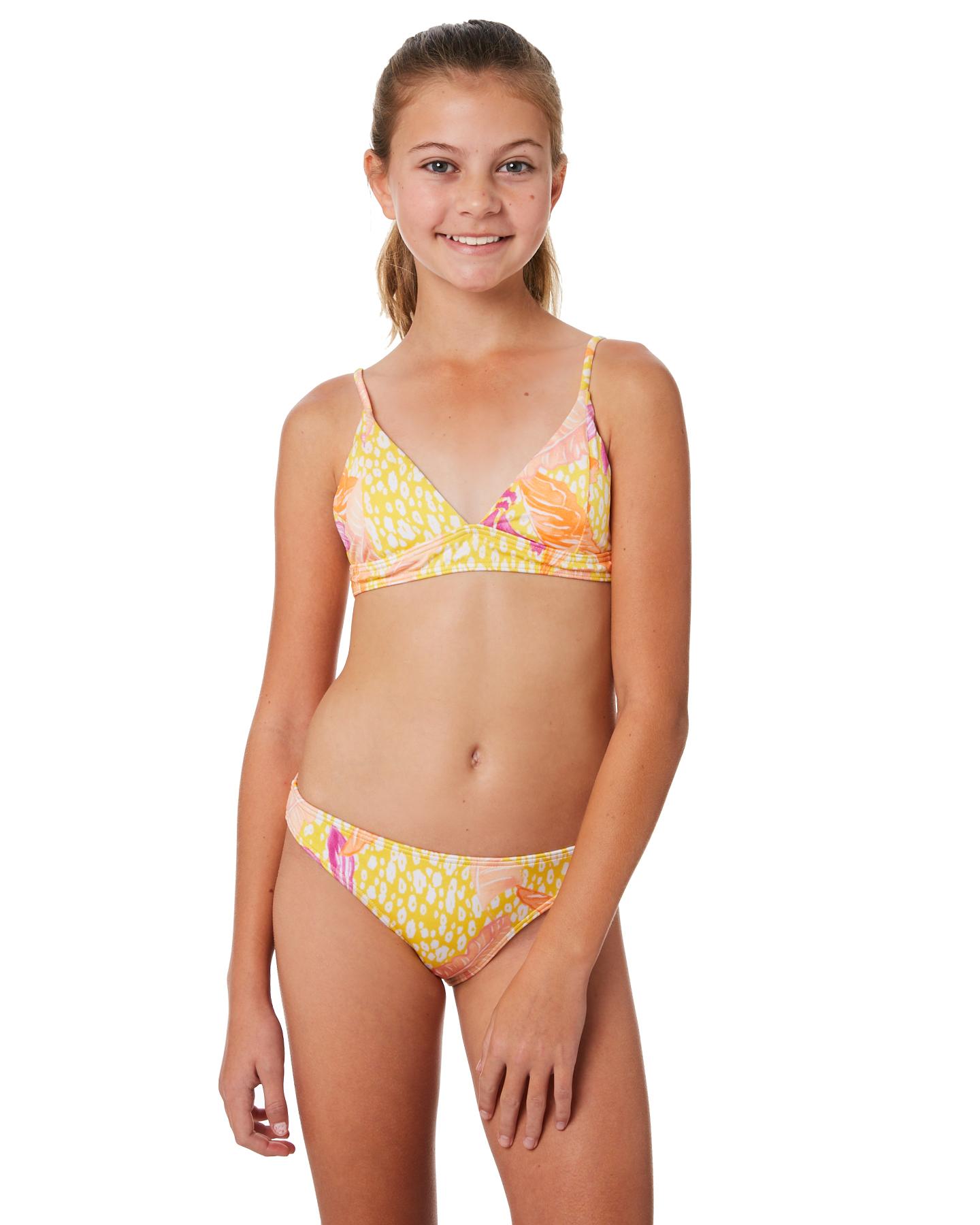 b606d62accc6a Billabong Kids Girls Love Palm Bikini Set - Mimosa | SurfStitch
