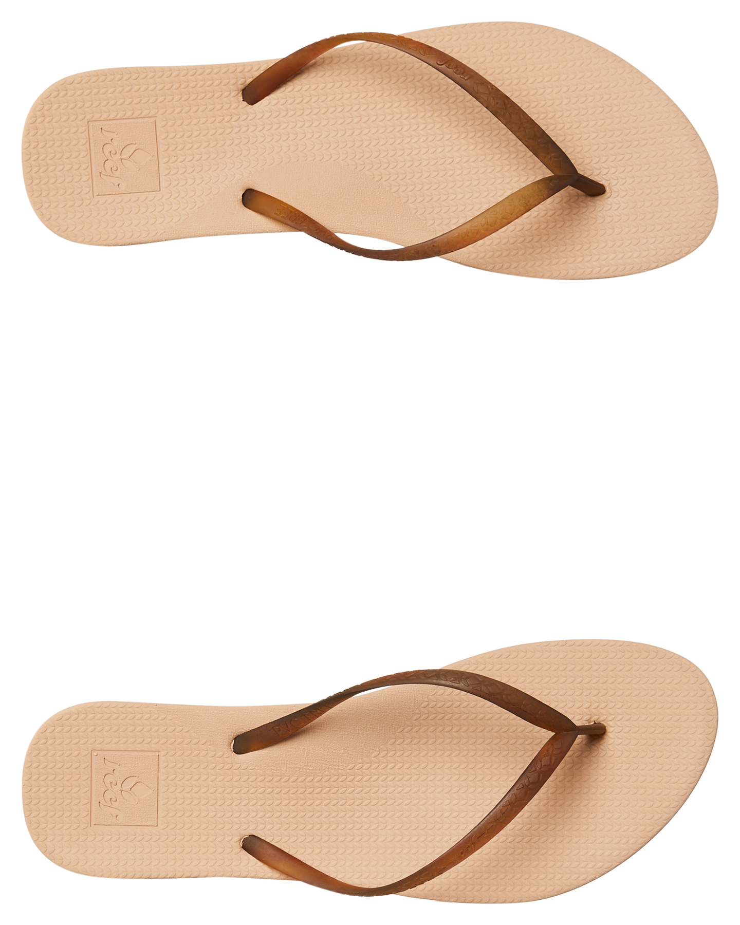 a8dc0a2f77c8 Reef Womens Escape Lux Thong - Nude Tortoise