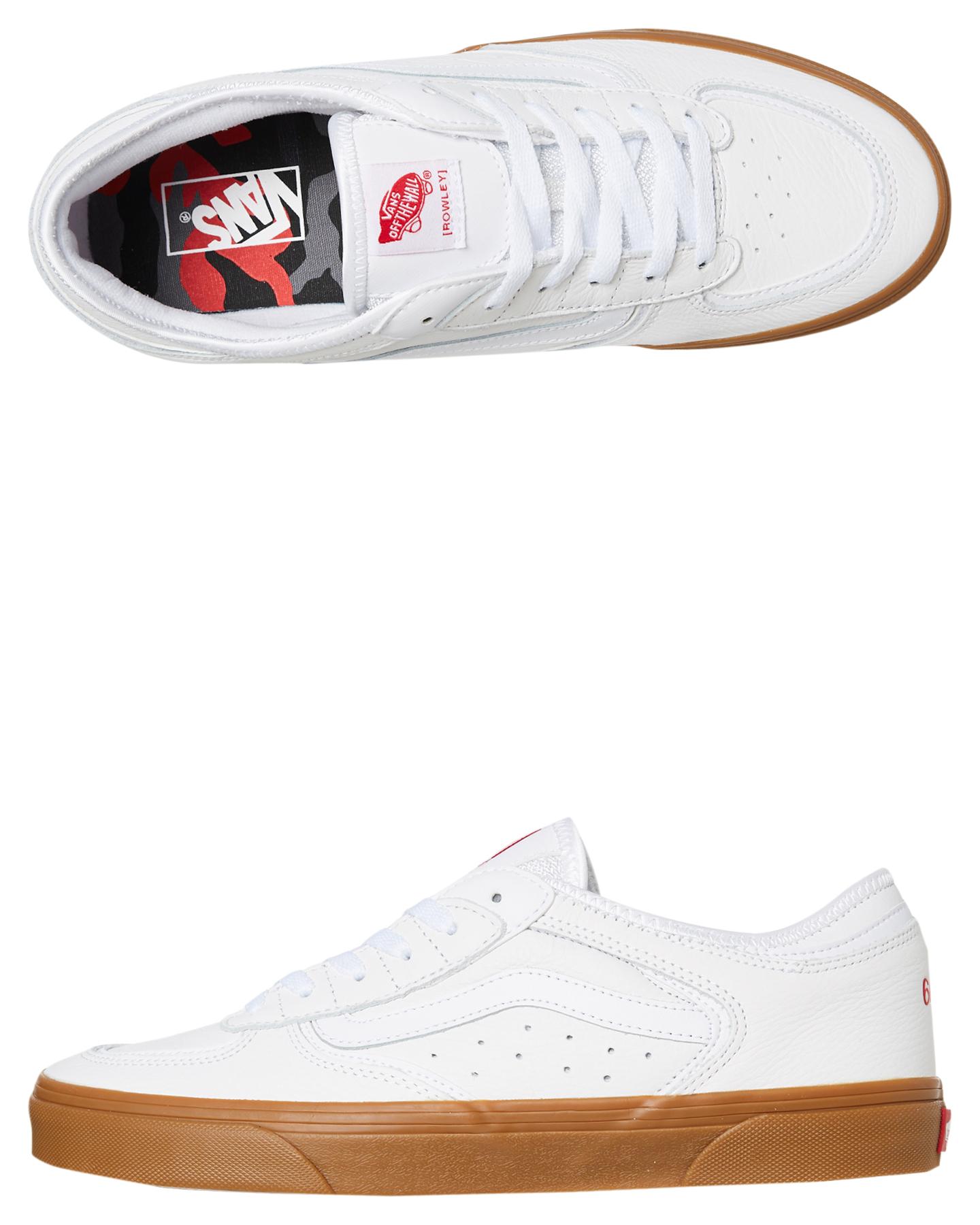 Vans Rowley Classic Leather Shoe - True